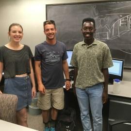 Student researchers advance understanding of iceberg calving