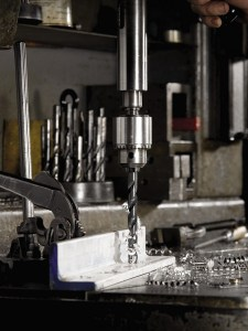 Metal drilling and forming