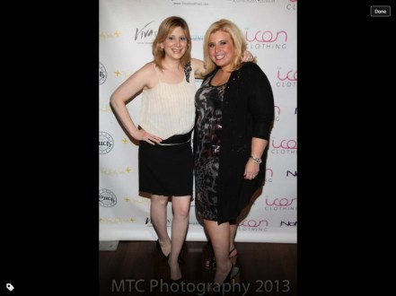 With Robin Kassner. Photo credit: MTC Photography