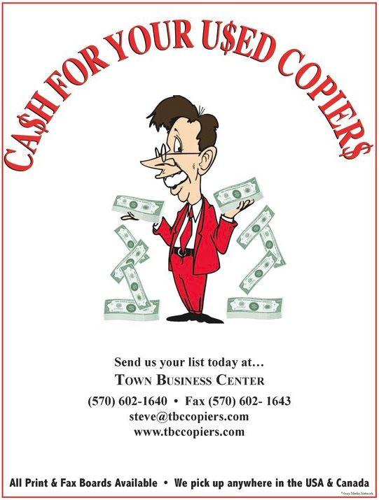 Cash for Copiers