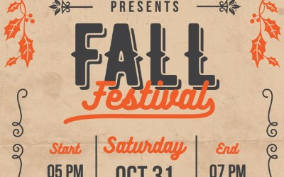 Fall Festival Info