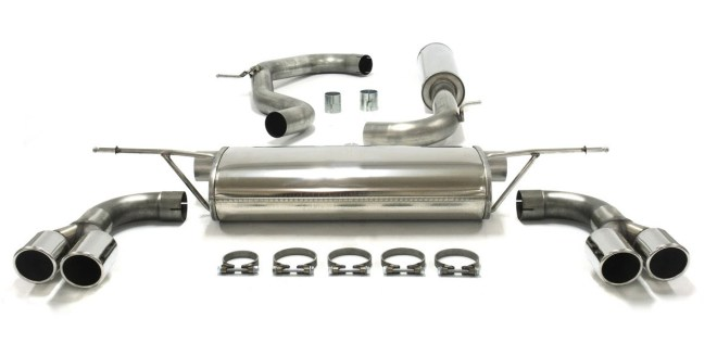 Replacement exhaust systems from TB Customs