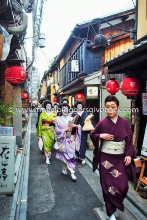 17 - Kioto, Japani Watia.fi Kioto, Japani: Entinen kotikaupunkini Kioto tunnetaan perinteisestä kulttuurista ja geishoista. Geishojen bongaaminen kuuluisissa geishakortteleissa voi olla kovan työn takana, mutta joskus onni potkaisee.