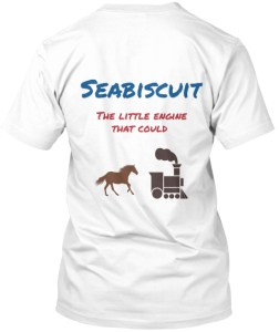 seabiscuit t-shirt