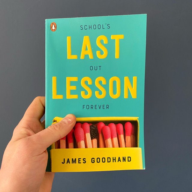 Last Lesson by James Goodhand is a lesson to all who read it