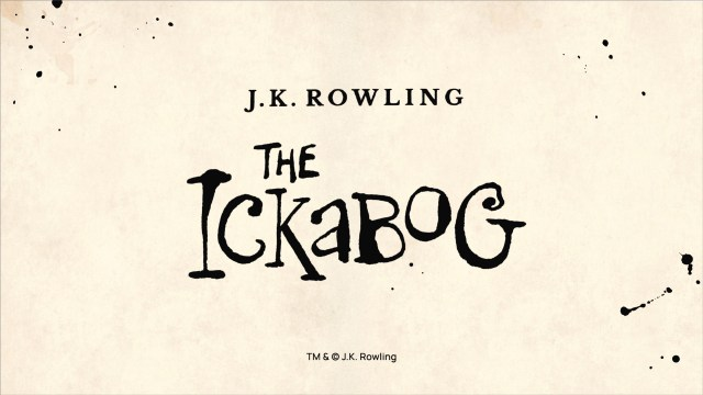 J.K Rowling introduces The Ickabog