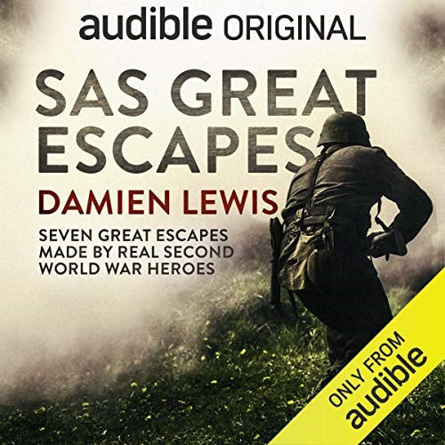 SAS Great Escapes by Damien Lewis is a gripping and fascinating listen