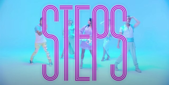 Steps release a colourful new video for Something in your Eyes