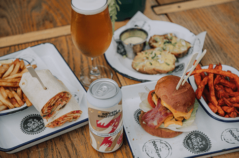 BEERS, BURGERS AND SEVEN BRO7HERS ARE HEADING TO MEDIACITYUK