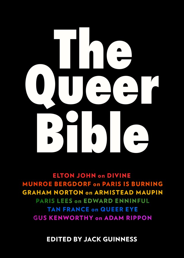 The Queer Bible, A Celebration of Queer Culture to feature Elton John, Tan France and Graham Norton