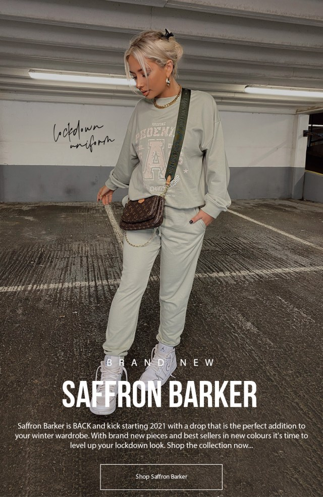 Saffron Barker is back with a new In The Style Collection