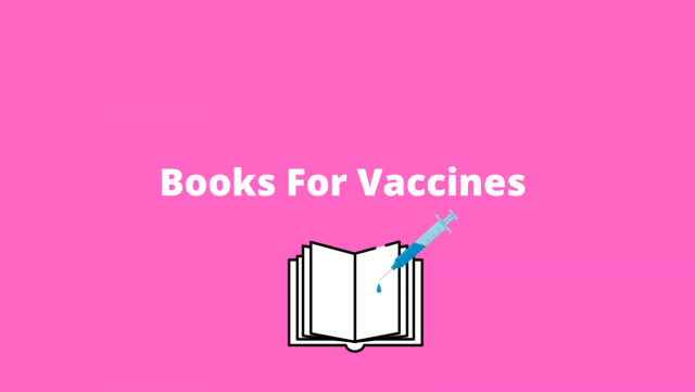 Love all things book-related? Then take a look at the Books for Vaccines Auction