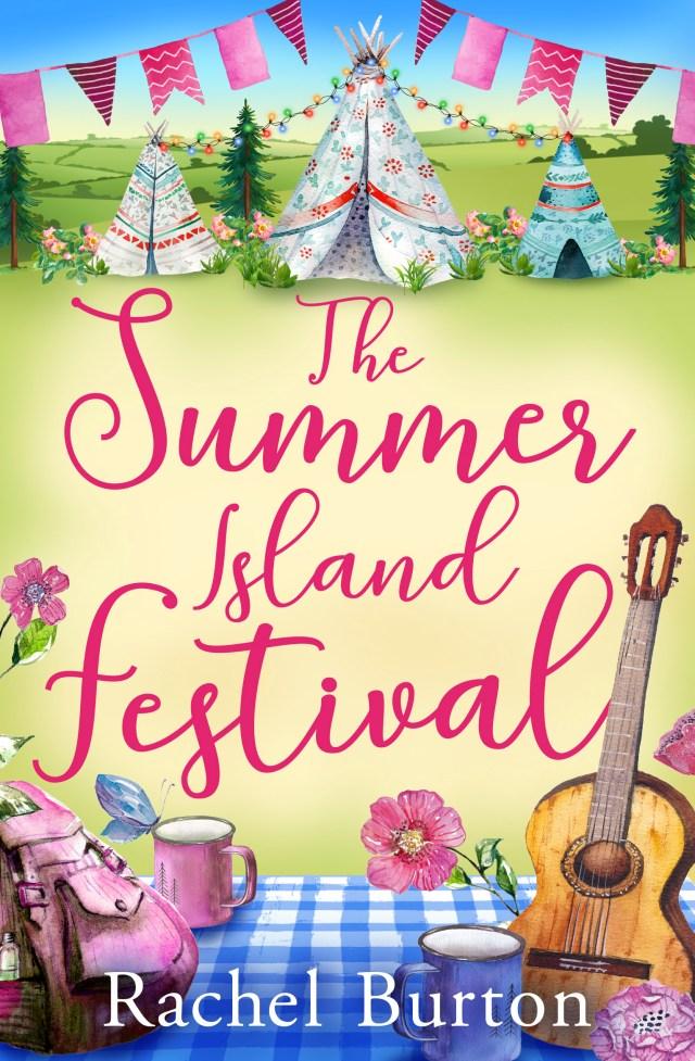 The Summer Island Festival by Rachel Burton is a great summer read