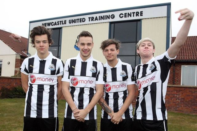 Do you remember when Louis Tomlinson nearly signed to Newcastle United Football Club?