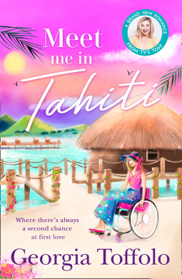 Georgia Toffolo reveals the cover for Meet Me in Tahiti