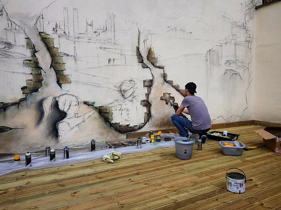 Chris Rivers – Picking up the paintbrush.