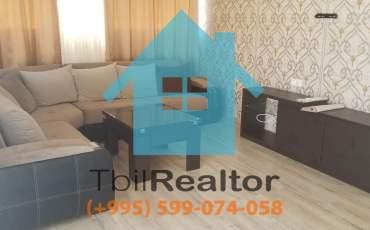 Сдается 2 комнатная квартира в новостройке в Тбилиси Сабуртало улица Цинцадзе дом Axis