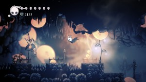 """Hollow Knight"" in the infected Forgotten Crossroads."