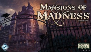 """""""Mansions of Madness,"""" a Lovecraftian boardgame by Fantasy Flight Games."""