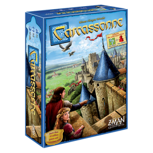 """Carcassonne"" box art, game created by Klaus-Jürgen Wrede."