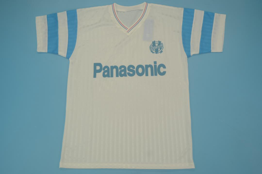 Browse memorabilia signed by marseille legends past and present, such as eric cantona, with this range that features signed shirts, photos, boots,. Olympique Marseille 1990 1991 Home Short Sl Free Shipping