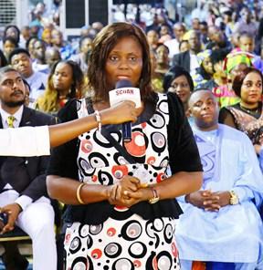 La señora Ihuoma Obioma