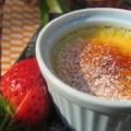 自家製★濃厚な紅茶のブリュレ