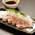 松阪豚の冷しゃぶ仕立て オリジナルポン酢ソース