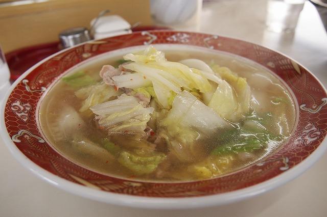 中華麺処 あずま屋のラーメン