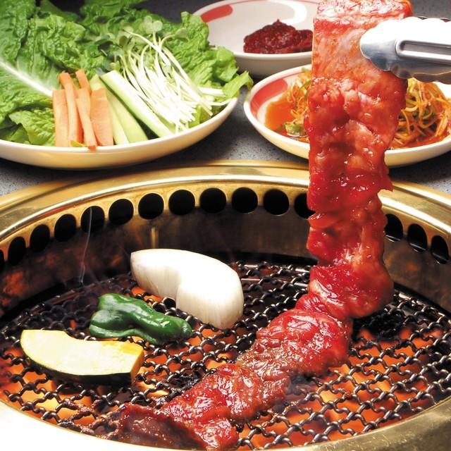 料理メニュー : ソウルカルビ 葵湯はなれ - 六名/焼肉 [食べログ]
