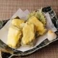 手造り生麩とクリームチーズの天ぷら