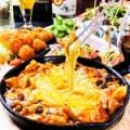 ピリ辛とろーりチーズのトマト・ダッカルビ