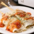 ギョウザのトマトチーズ焼き(2本)