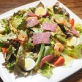 生ハムの彩りグリーンサラダ