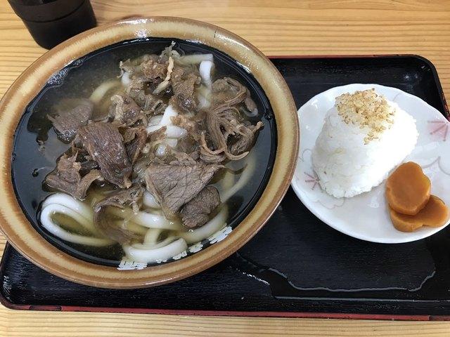 立喰い生麺 バイパス店のラーメン