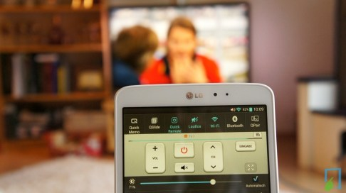 LG G Pad Quick Remote Widget