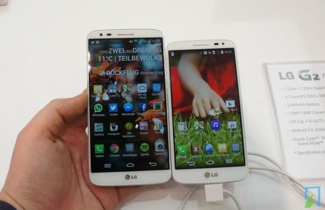 LG G2 vs G2 mini Vergleich