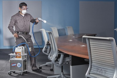 Total Building Maintenance, Inc., Introduces Innovative New Germ-Fighting Electrostatic System