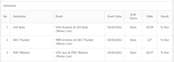 Time to get back on course with these three homers treble!