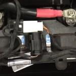 BMW F800GSA Sat Nav Port