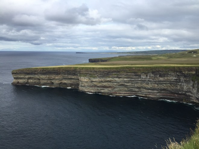 Cliffs are dangerous, but beautiful...