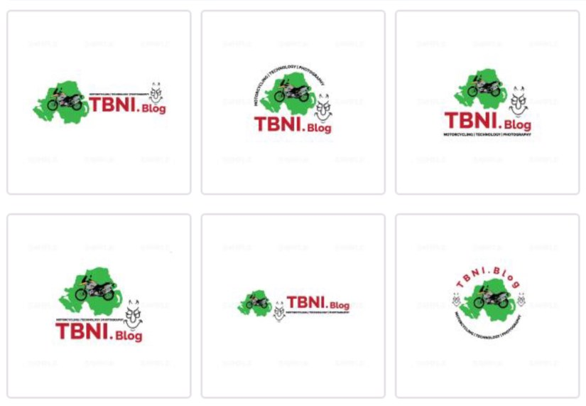 The First Pathetic Set of Logos Offered - Allegedly 3 Different Designers Worked on these.