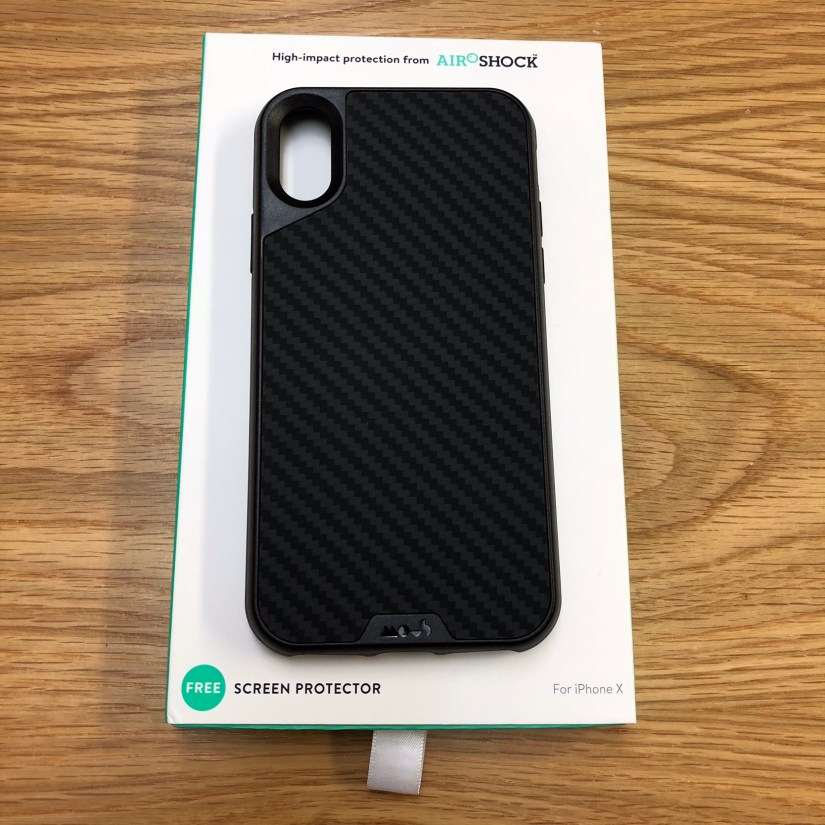 new concept 21284 9851c Mous Limitless iPhone X Case (Carbon Fibre) Unboxing & Review - TBNI ...