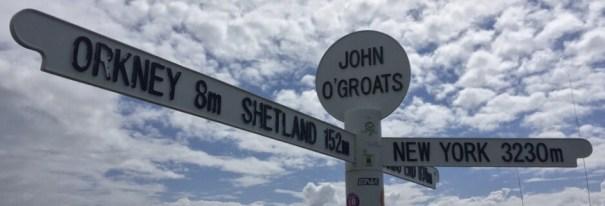Scotland's North Coast 500 : NC500 : John O'Groats