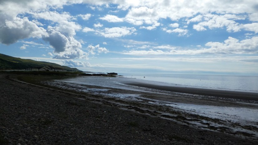 Scotland's North Coast 500 : NC500 : Ailsa Craig & Coastline towards Cairnryan