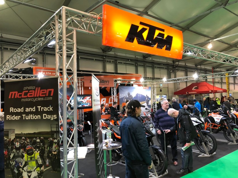KTM Stand at 2018 NI Motorcycle Festival