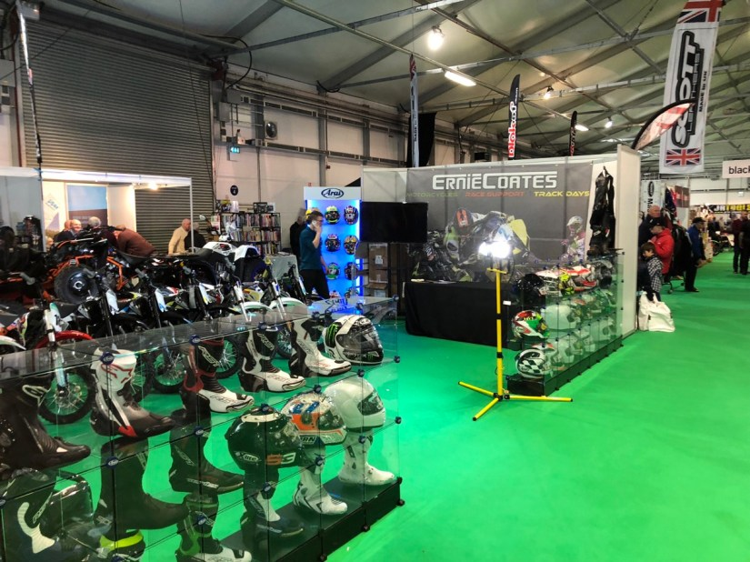 Gear for Sale at 2018 Northern Ireland Motorcycle Festival