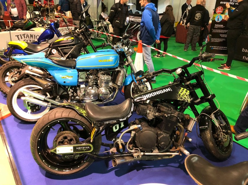Custom Bikes at 2018 Northern Ireland Motorcycle Festival