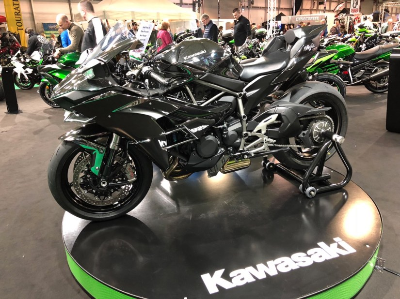 Kawasaki H2 at 2018 Northern Ireland Motorcycle Festival