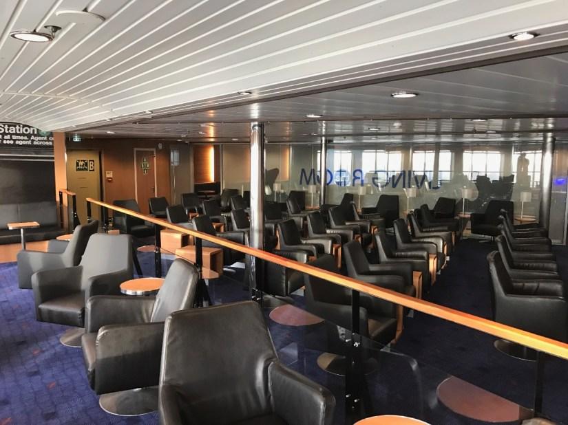 Wales in Winter : Wales in a Weekend : Stena Line Lounge Dublin to Holyhead